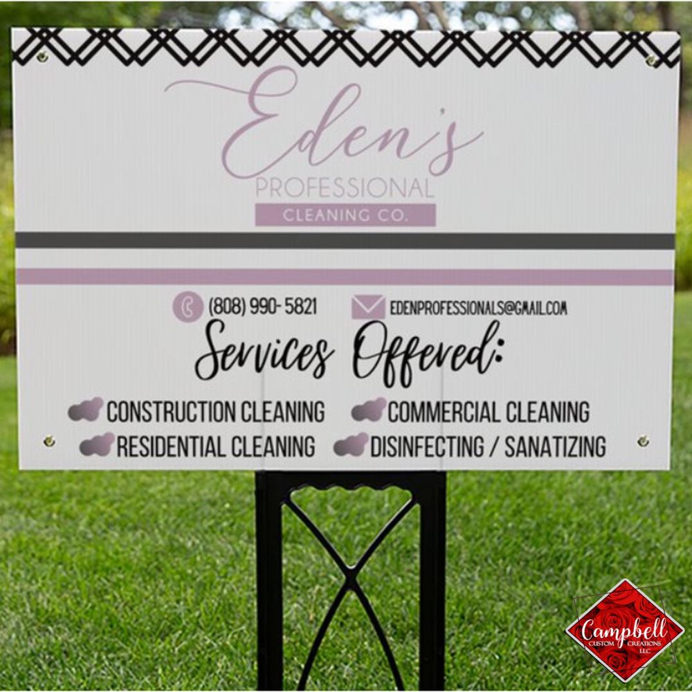 Eden's Professional Cleaning Company: Nash, TX