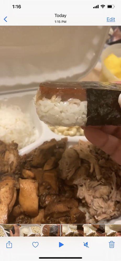 Food from Hawaiian Bros