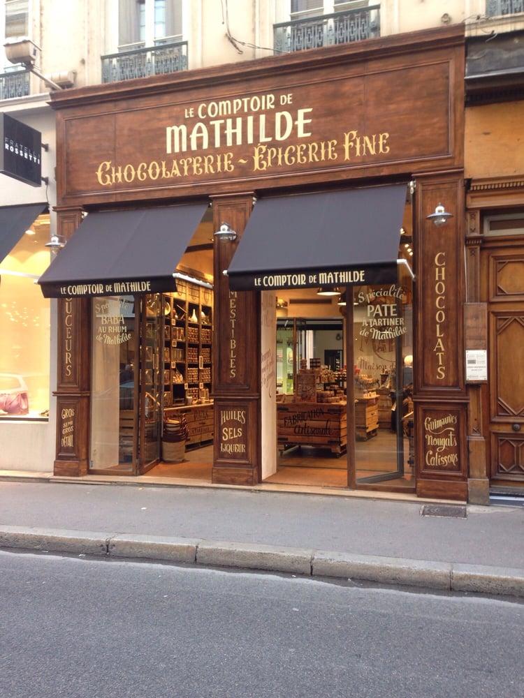 le comptoir de mathilde lyon 2 chocolatiers 54 rue de brest bellecour lyon france. Black Bedroom Furniture Sets. Home Design Ideas