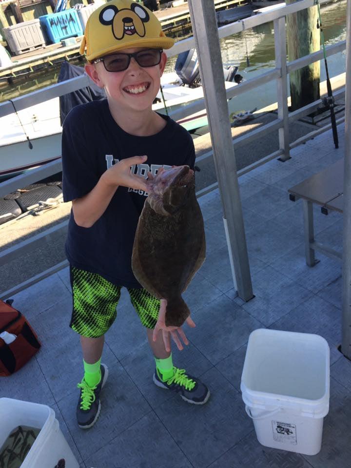 Keeper Back Bay Fishing