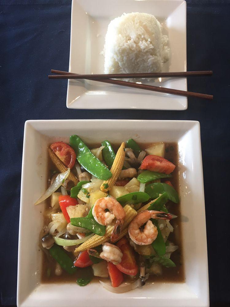 The King's Thai Cuisine: 7890 University Ave NE, Minneapolis, MN