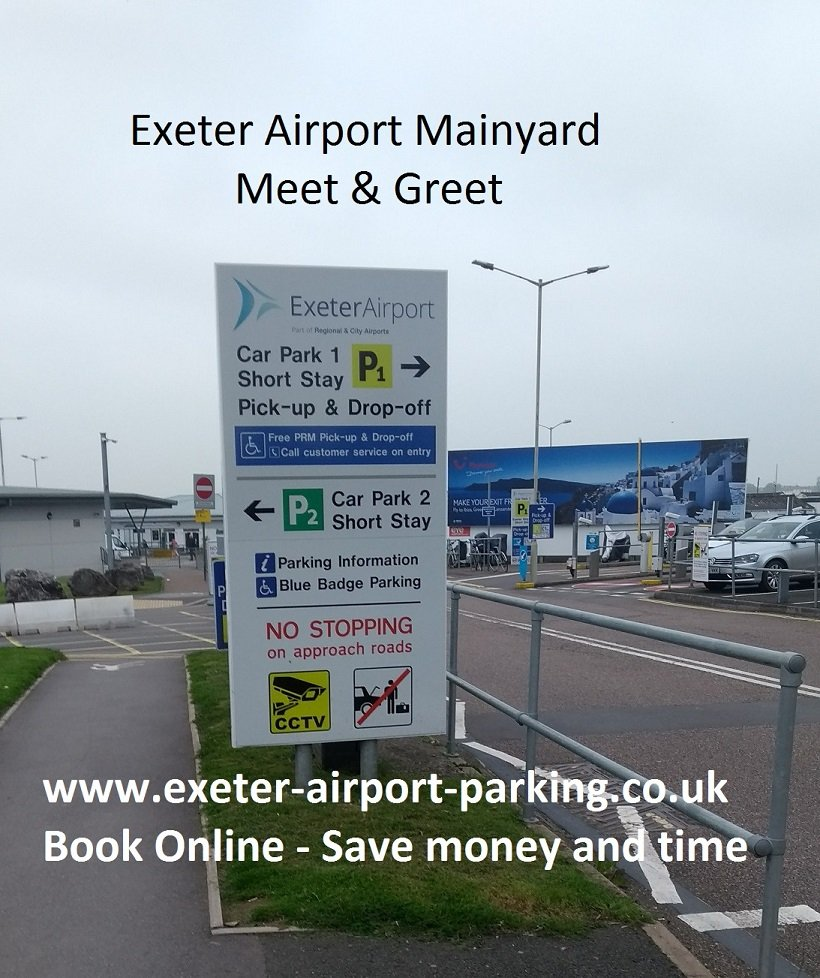 Mainyard Parking Exeter Airports Exeter Aiport Exeter Devon