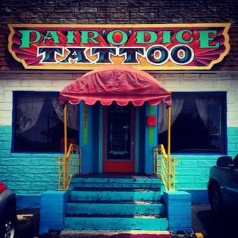 Pair o dice tattoo 16 photos 16 reviews tattoo for Tulsa tattoo shops