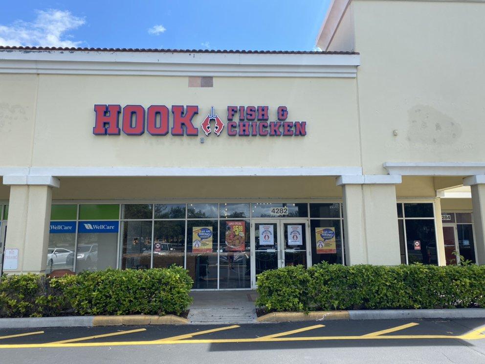 Hook Fish And Chicken: 4282 Okeechobee Blvd, West Palm Beach, FL