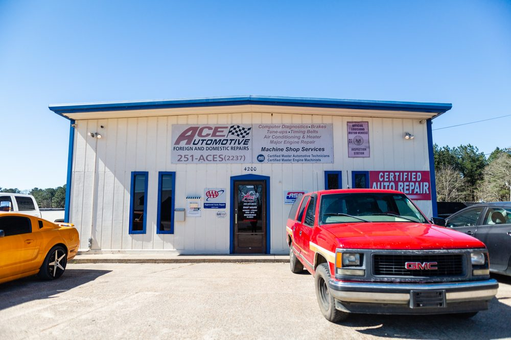 Ace Automotive Repair & Towing: 4200 S Vienna St, Ruston, LA
