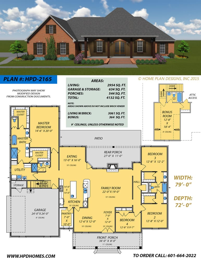 Home plan designs architects 345 keyway dr flowood for House plans ms