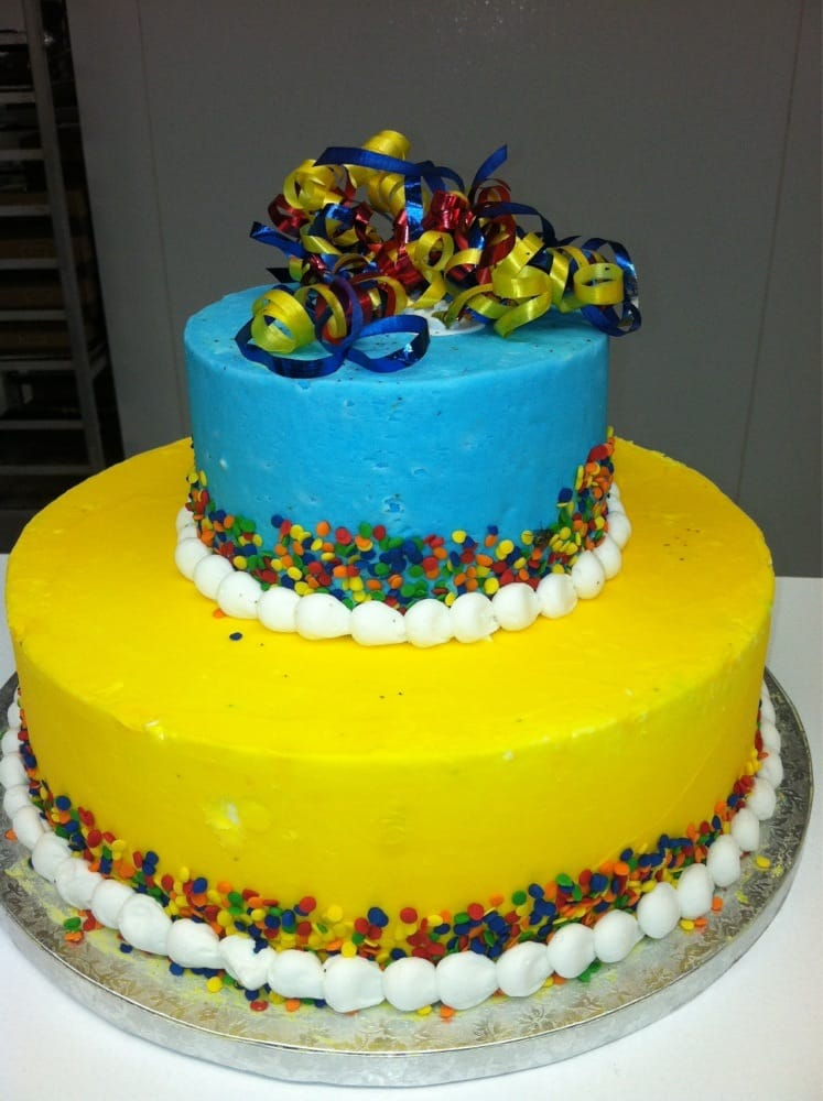 Custom Decorated Cakes In The Bakery Department Design