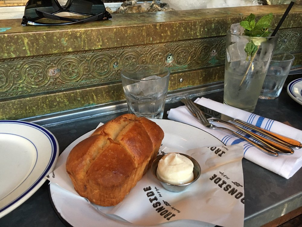 Best bread ever yelp for Ironside fish and oyster san diego