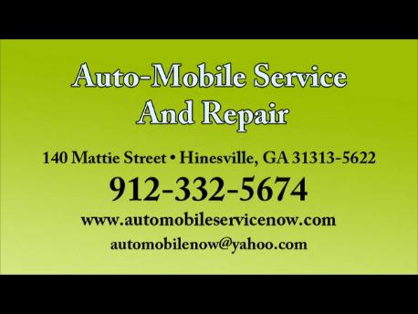 Auto-Mobile Service and Repair: 140 Mattie St, Hinesville, GA
