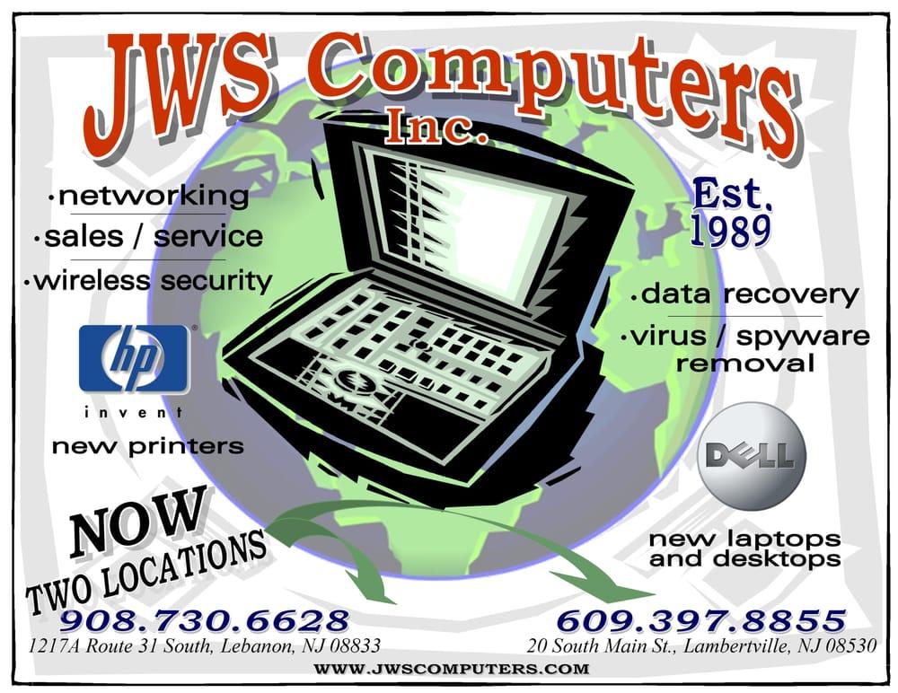 JWS Computers: 20 S Main St, Lambertville, NJ