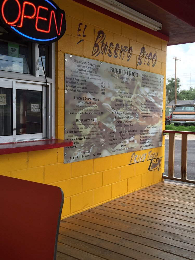 El Burrito Rico: 4404 River Rd, Amarillo, TX