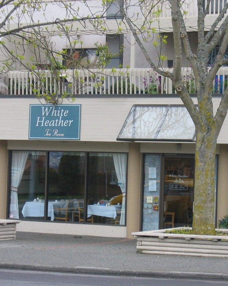 White Heather Tea Room Victoria Bc Canada