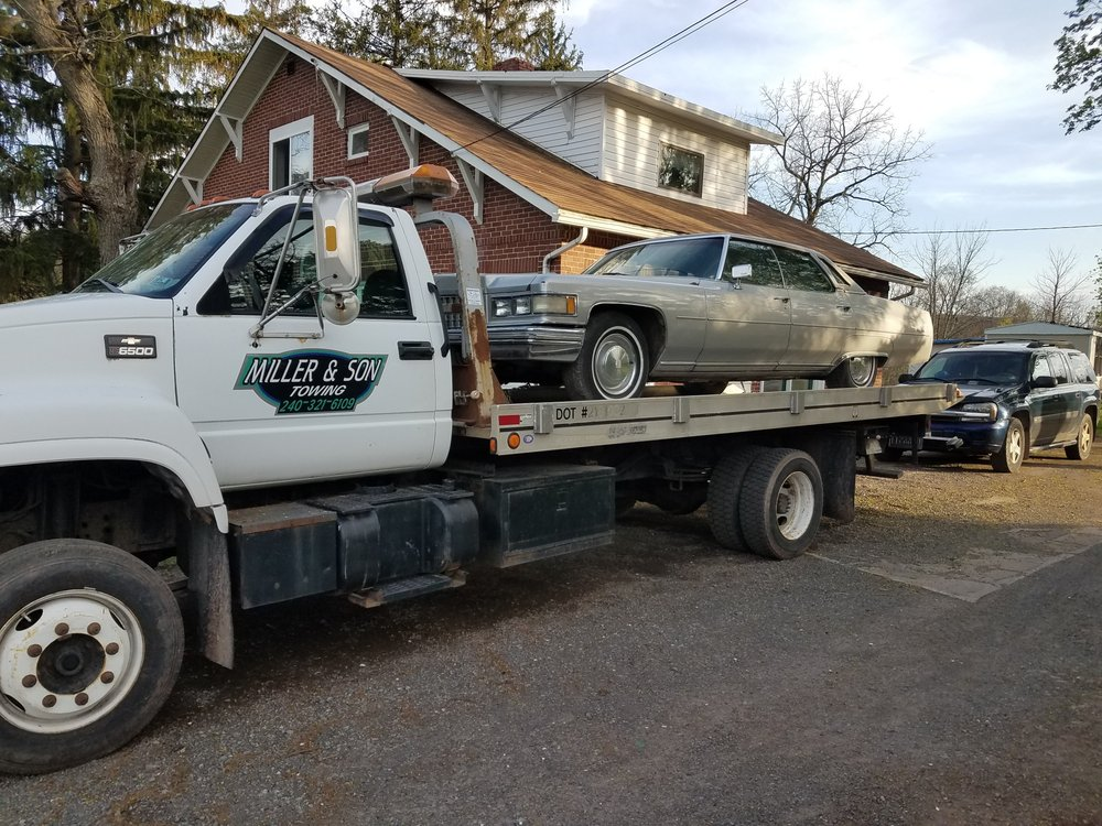 Photo of Miller & Sons Towing: Accident, MD