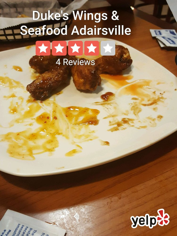 Duke's Wings & Seafood Adairsville: 12 Legacy Way, Adairsville, GA
