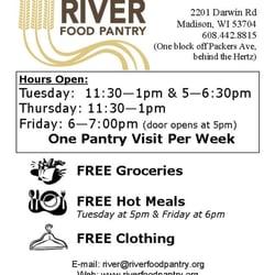 River Food Pantry Grocery 2201 Darwin Rd Berkley Oaks Madison