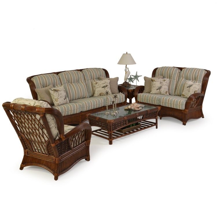 Patio Furniture Spring Hill Fl: Island Way Wicker And Rattan Seating Set