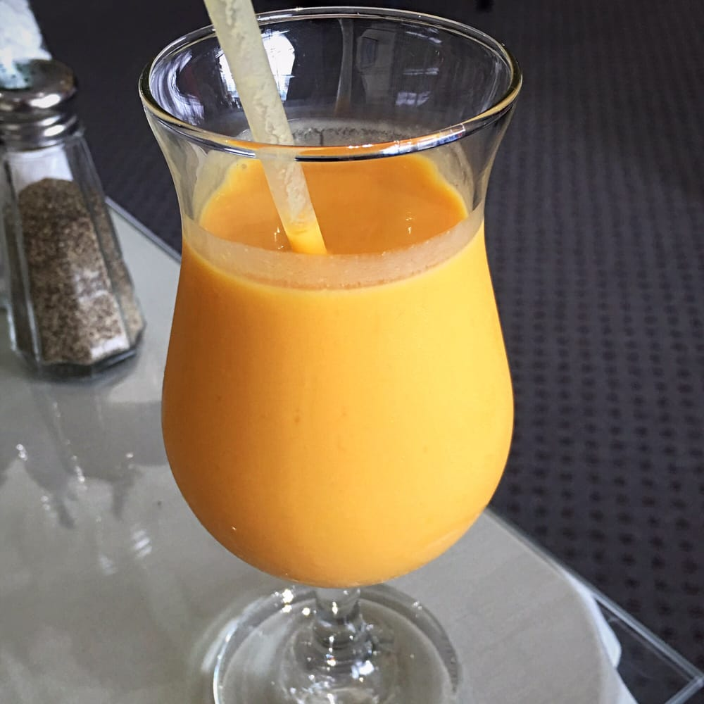 ... mango lassi I've had in Madison - creamy smooth consistency with