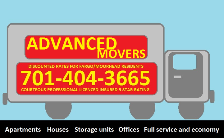 Advanced Movers: 524 1/2 Broadway N, Fargo, ND