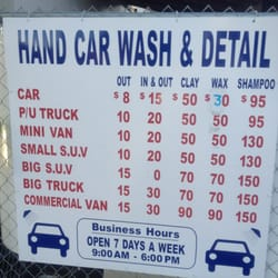 car wash near me prices