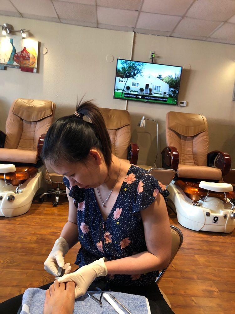 First Nails Salon: 3100 W Arkansas Ln, Dalworthington Gardens, TX