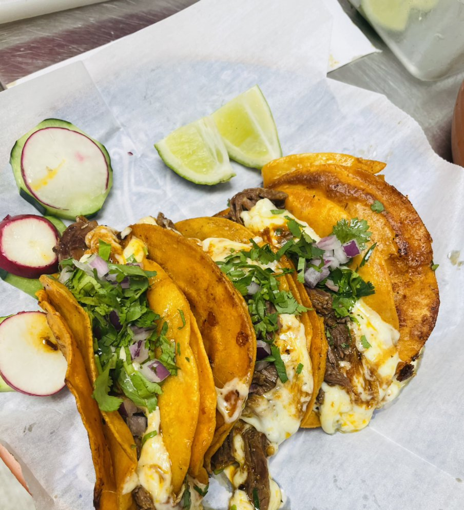 Food from El Señor De Los Tacos
