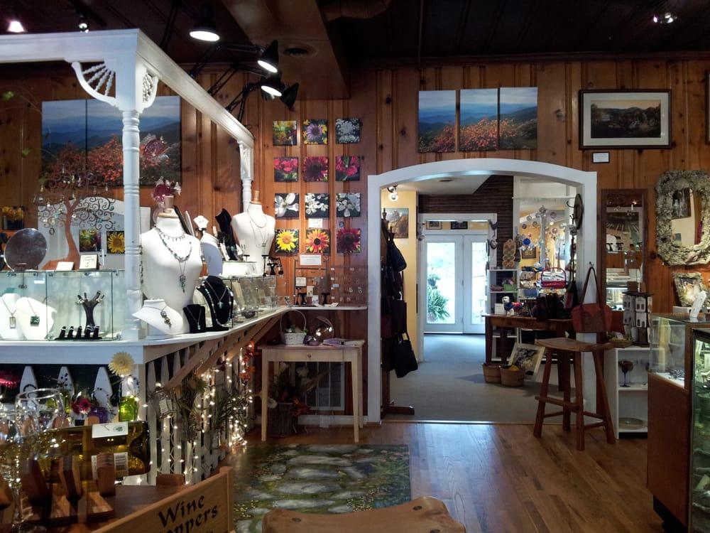 The Bell Gallery and Garden: 112 N Locust St, Floyd, VA