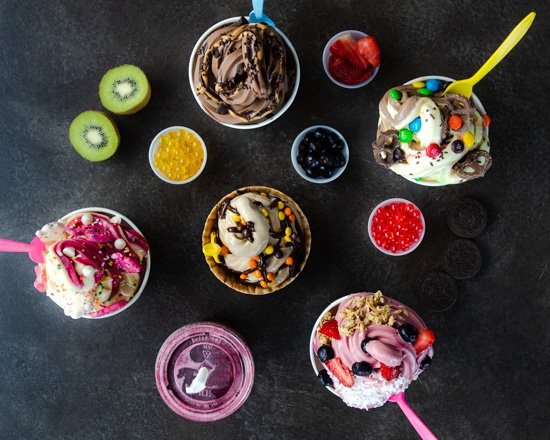 Food from Froyo Earth