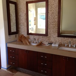 Photo Of Ideal Cabinets   Vista, CA, United States. Custom Floating Vanity,