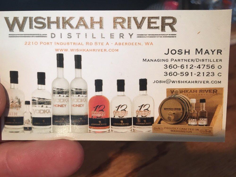 Wishkah River Distillery: 2210 Port Industrial Rd, Aberdeen, WA