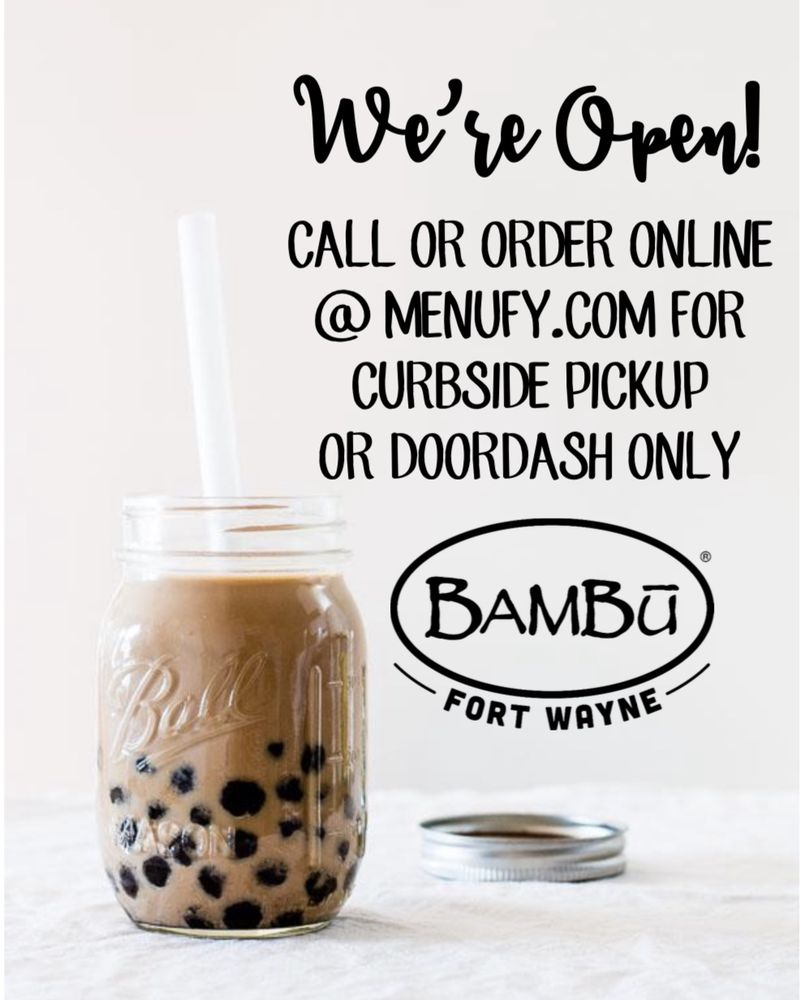 BAMBU: 8812 Coldwater Rd, Fort Wayne, IN
