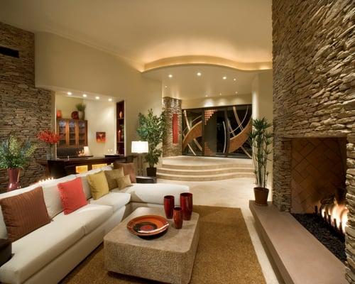 Soft Contemporary Interior Design Janet Brooks Design Scottsdale