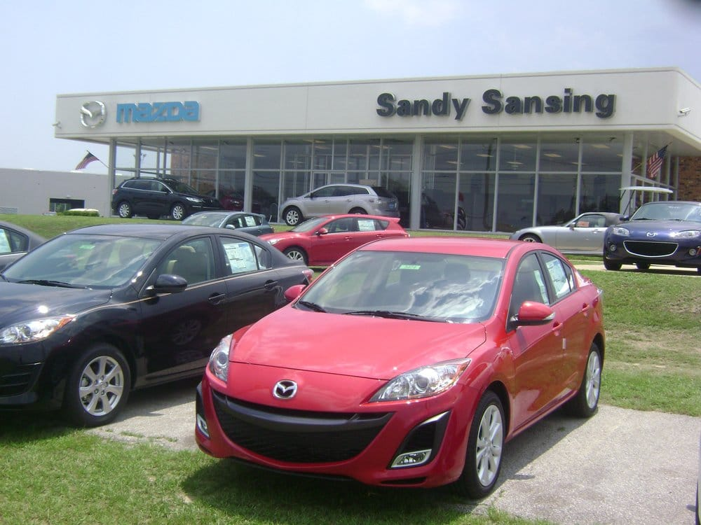 Sandy sansing mazda yelp for Mcvay motors pensacola florida