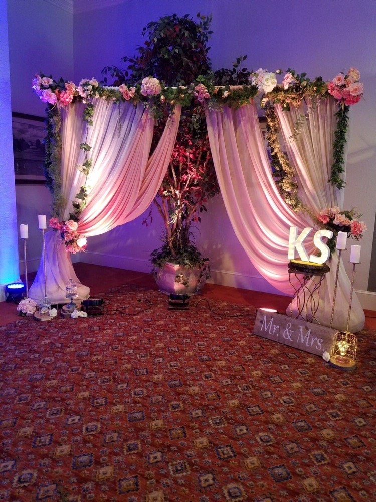 bay area indian wedding decorations reception decor and draping yelp