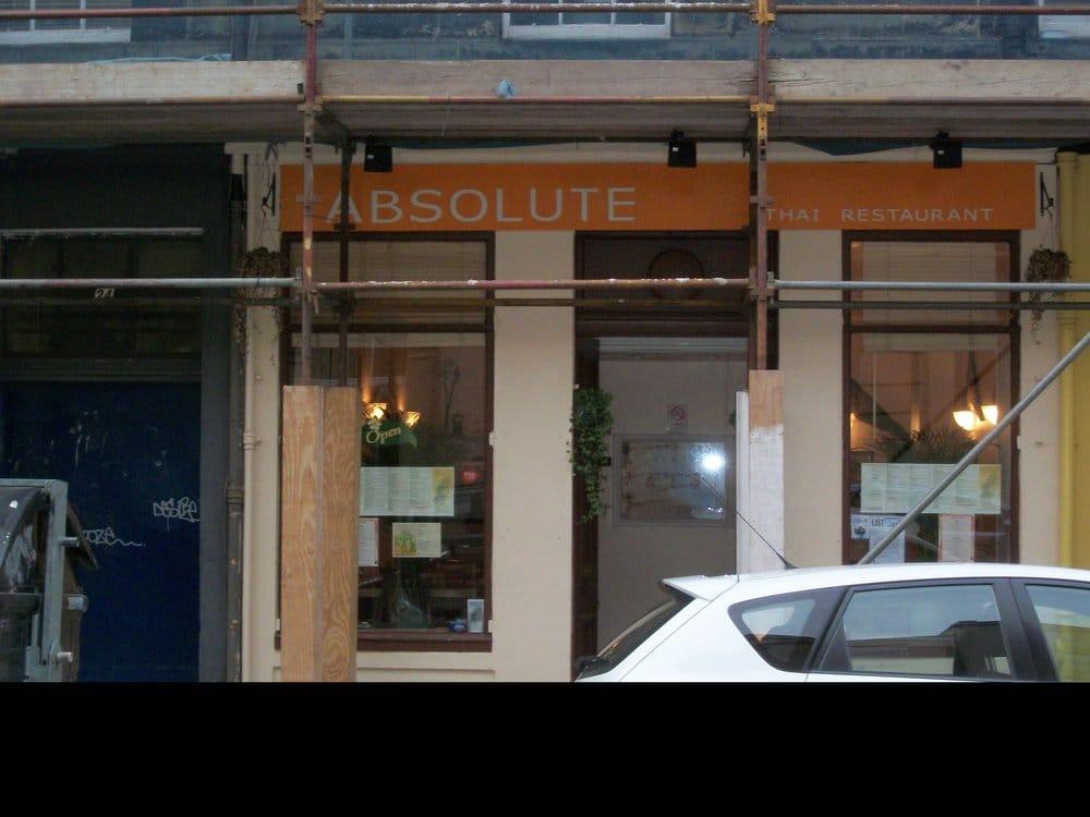 Absolute Thai Restaurant Edinburgh