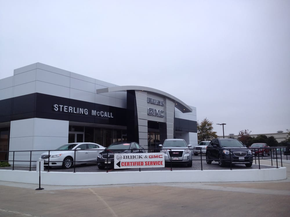 Sterling Mccall Gmc >> Sterling Mccall Buick Gmc Houston Car Truck Dealership