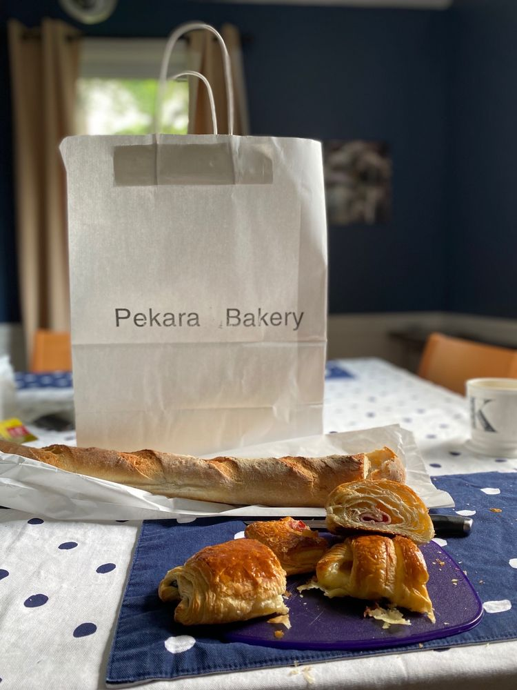 Food from Pekara Bakery