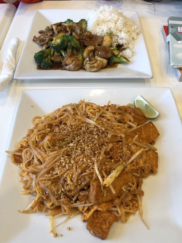 Food from Ginger and Spice Asian Bistro