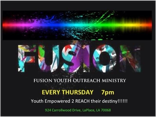 FUSION Youth Outreach Center: 8896 Richmond Dr, LaPlace, LA