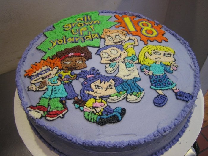 Rugrats Cake Custom Design Hand Drawn Cakes Yelp