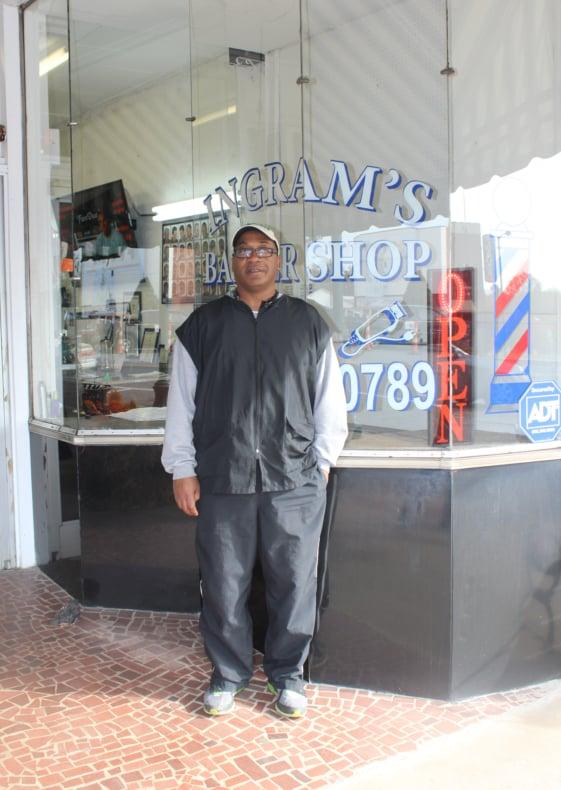 Ingram's Barber Shop: 223 S Battleground Ave, Kings Mountain, NC