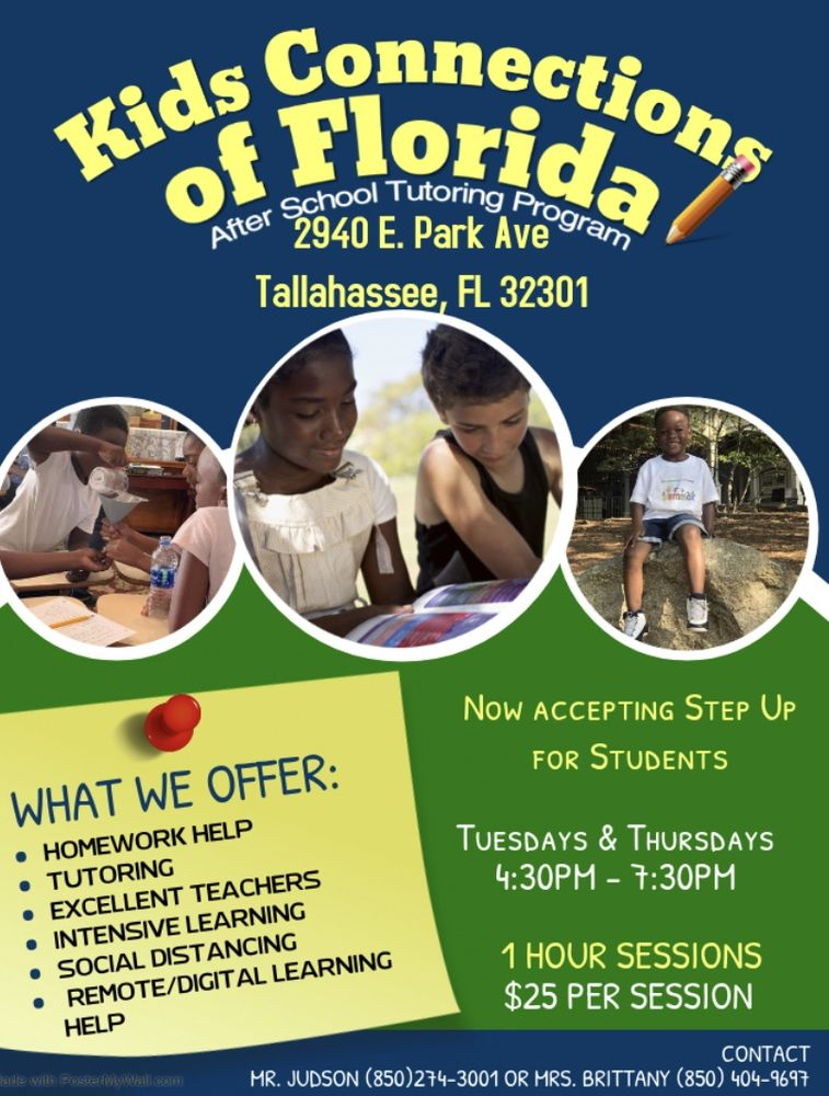 Kids Connections of Florida: 2940 E Park Ave, Tallahassee, FL