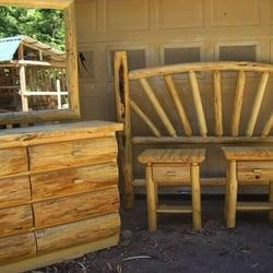 Photo Of Montana Custom Log Furniture   Troy, MT, United States.