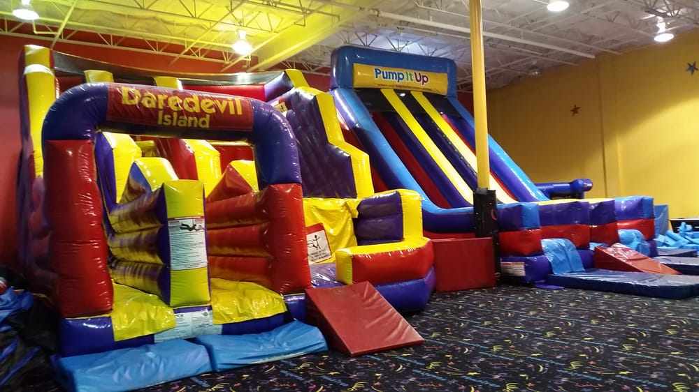 Slides And Bouncy Things Yelp