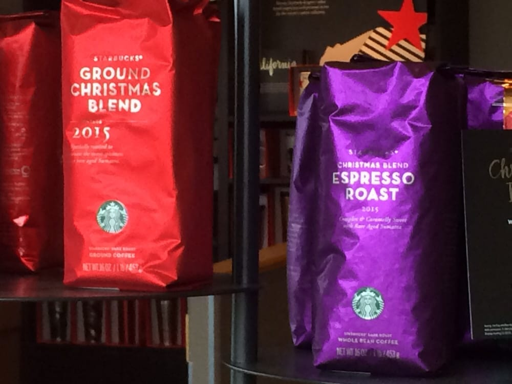 photo of starbucks bakersfield ca united states christmas blend coffee and christmas