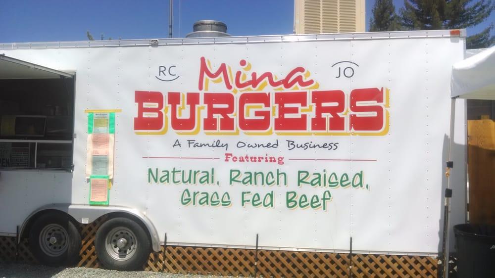 Mina Burgers: Covelo, CA
