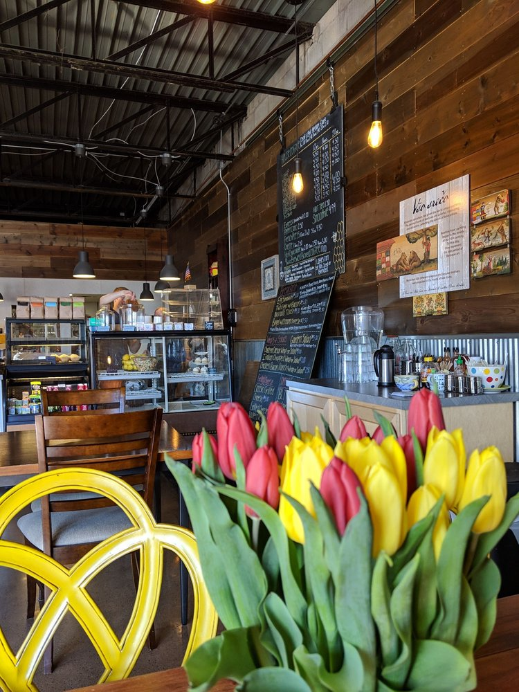 The Hive Coffee and Bakehouse: 103 N Main St, Aurora, MN