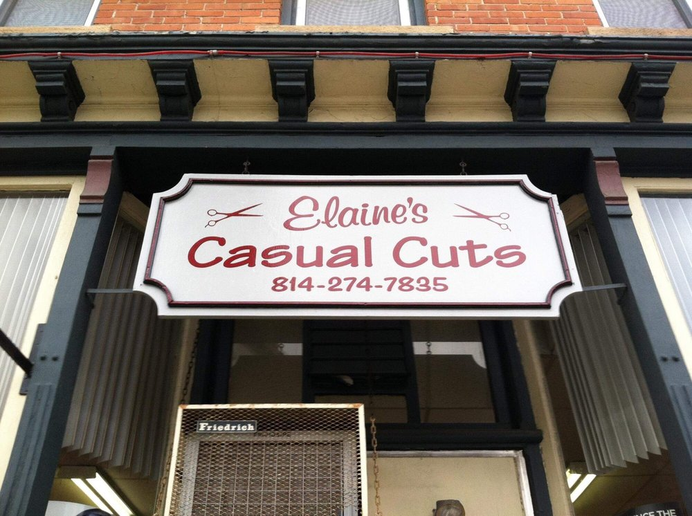 Elaine's Casual Cuts: 116 N Main St, Coudersport, PA