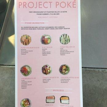 Project poke 851 photos 477 reviews poke 16051 for Fish me poke menu