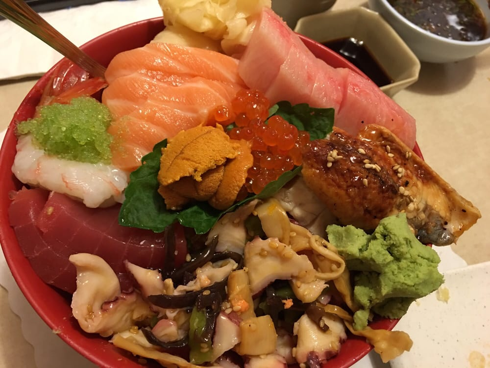 Chirashi bowl 45 yelp for Akasaka japanese cuisine