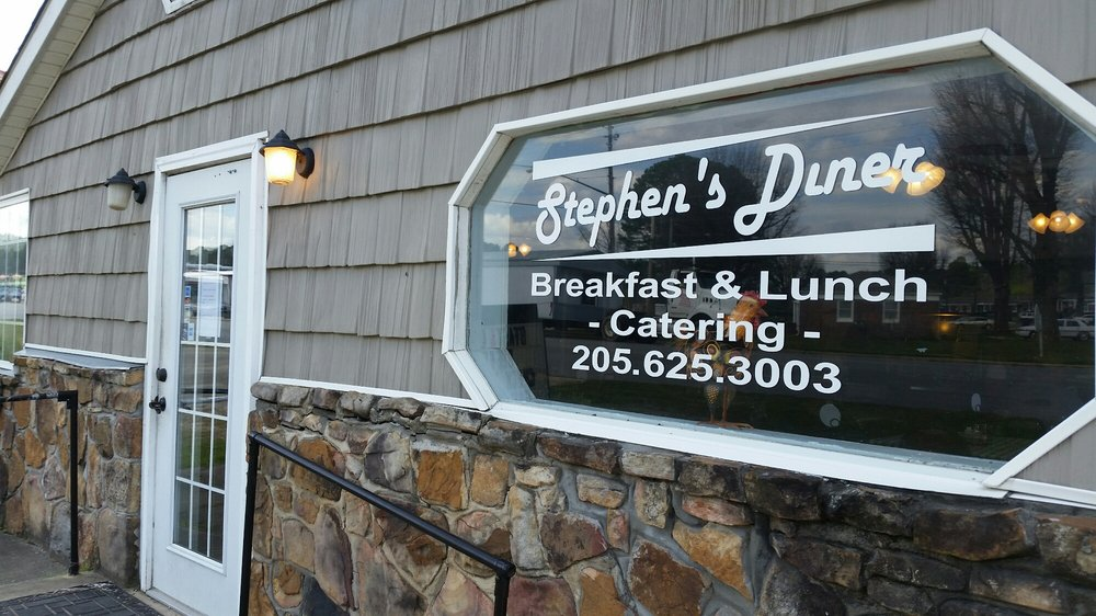 Stephen's diner: 201 6th St S, Oneonta, AL